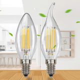 C35L LED candle dimimg bulb 110V/220V with E12/E14