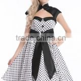 Bestdress cheap pin up Womens Polka Dot Womens Vintage 50s 60s Swing Housewife Prom Party rockabilly dress boutique