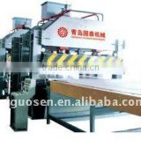 aluminium honeycomb panel hydraulic press