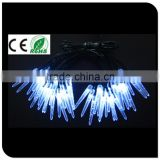 led icicle christmas light white icicle led for holiday decorate, street lights, party lights