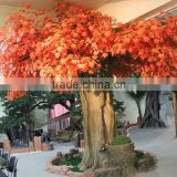 Superior quality decorative artificial plant, artificial/fake maple tree indoor&outdoor for landscaping with reasonable price
