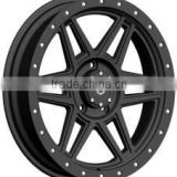 20x9.0 jwl via wheels 6x139.7 factory price wheel for hot sales 4x4 atvs rims