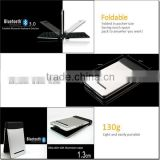 high quality computer fold keyboard,mini wireless keyboard,Mini Bluetooth keyboard for ipad Air
