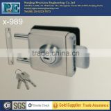 pin square head single lock of glass door