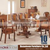 antique wooden inlay dining room furniture