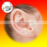 Hot Magic Stimulate accupuncture point Ear sticker earing crystal earing weight-lose
