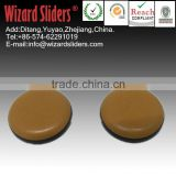 Round PTFE pad/easy move large size furniture/leg sliders/easy glide/adhesive glides