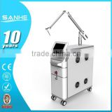 1064nm Nd Yag Laser Tattoo Removal Machine / Q Switch Yag Laser Machine Tattoo Eyebrow 1-10Hz
