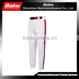 Custom wholesale baseball pants/plus size baseball pants