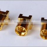 50 ohm female gender gold-plated MMCX connector for earphones