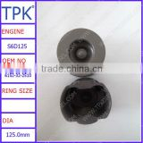 6152-32-2510 Used for Komatsu excavator PC400-7, PC400-6 piston, wheel loader WA470-5 engine piston, cast piston