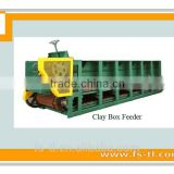 Foctory price automatic chain plate box feeder made for material preparation process , mixing feeder machinery