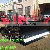 40HP farm steel CRAWLER TRACTOR,diesel engine,with ROPS,BLADE,rear suspension,agriculture machine,bulldozer