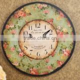 Round home decor young town quartz clock movements wall clock mechanism