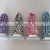 classical fashionable zebra design printed medical cloth ice bag in color printed display show box packing