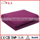 Factory Supply 100% Polyester Fleece King Electric cover Blanket for cold winter