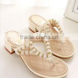 cheap wholesale fashion woman slippers/flip flop wholesale/ fashion ladies slipper factory