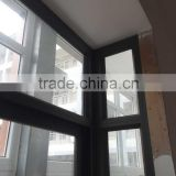 aluminium bronze fixed window and double glass