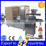 Sales promotion full automatic alcohol filling line,bottle filling and labelling machine