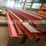 Galvanized steel h beam steel structure, Hot-rolled Galvanized Steel Structure