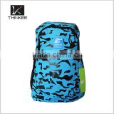 all over printed kids school backpack travelling nylon backpack