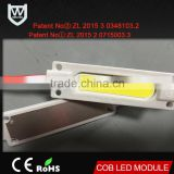 CE RoHS certification and 2700-6500K Emitting color led module IP67 waterproof 180LM 2W Power led lighting signs module