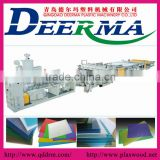 plastic hollow grid sheet making machine|PVC PP hollow sheet machinery