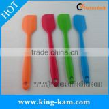 Food grade silicone scraper set in 4 pieces