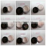 Nude color sculpture acrylic powder nail /pure color powder