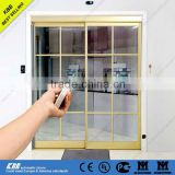 residential automatic sliding door with security glass