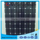 High efficiency Mono crystalline solar panel 300W for 8kw hybrid wind solar power system