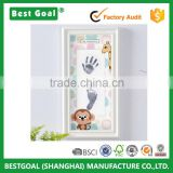 Baby first print wall hanging wood picture frame                                                                                                         Supplier's Choice