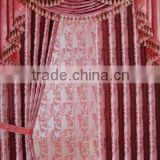 jacquard polyester curtain fabric blackout for bedding room                                                                         Quality Choice