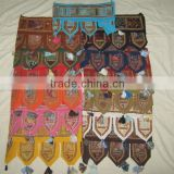 Indian Cotton Door Hanging Embroidered Toran Vintage Window Valance Indian Cotton Door Hanging