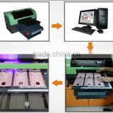 commercial photo frame, A3 8 colors 1900 printhead phone cases inkjet flatbed printer machine factory price