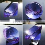 crafts hot sell wholesale crystal diamond shaped paperweight