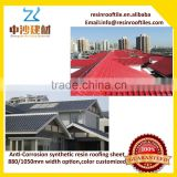 PVC decorative sheet resin roof sheet with same corrugated as gavanized corrugated materials