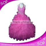 Princess western gowns party ball gown puffy dresses