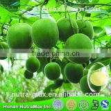 GMP Factory sale -luo han guo fruit extracts,nature luo han guo extract,Momordica frosvenorii Extract	-NutraMax