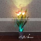 2016 new manufacturing plant for decoration artificial LED flower pots / simulation led light flower pot for home decoration