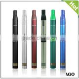 wholesale brand new ago vapor pen dry herb vaporizer pen ago lcd battery pen starter kit