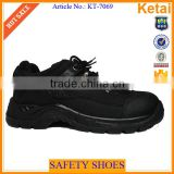Low cut fashion upper best seller safety shoes plastic toe cap