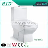 HTD-8006A Foto promotional sanitary ware bathroom ceramic one piece toilet bowl prices alibaba china supplier