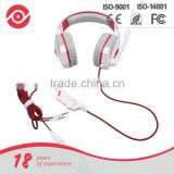 Yes Hope Over-ear stereo gaming headphone video game console headset with Mic volume control