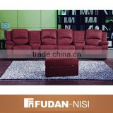 Indian grain leather chesterfield recliner sofa sets