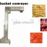 2015 1.6L Full Auto Plastic Bucket Elevator / Infeed Bucket Conveyor for Vertical Conveyor Systems