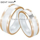 Alibaba wholesale ceramic rings design for women and men/ceramic diamond ring latest gold ring designs wholesale 3 ring binders