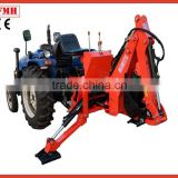 2015 new style Changzhou Farmer helper CE towable backhoe for sale ,small garden backhoe,tractor loader backhoe
