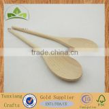 Custom personalized wooden spoon natural wood scoop