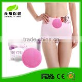 Instant Air Activated Disposable Menstrual Pain Relief Patch With Spunlace Surface Directly on Skin Use